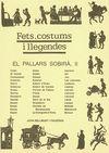 PALLARS SOBIRA II, EL. FETS, COSTUMS I LLEGENDES