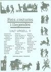 ALT URGELL,L' II. FETS, COSTUMS I LLEGENDES