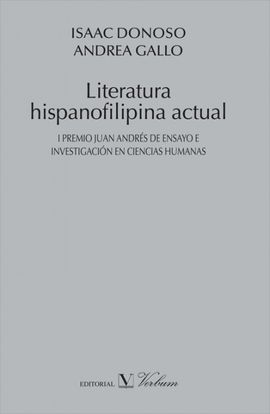 LITERATURA HISPANOFILIPINA ACTUAL