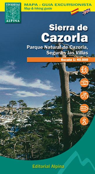 SIERRA DE CAZORLA 1:40.000 [CAS-ENG] -ALPINA
