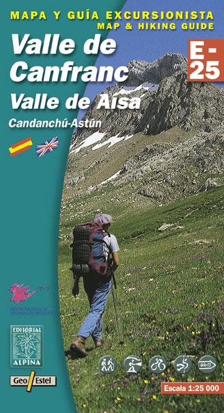 VALLE DE CANFRANC 1:25.000 -ALPINA E-25