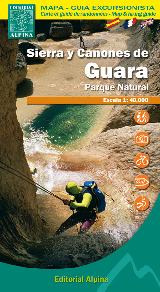 SIERRA Y CA�ONES DE GUARA 1:40.000 [CAS-FRA] -ALPINA