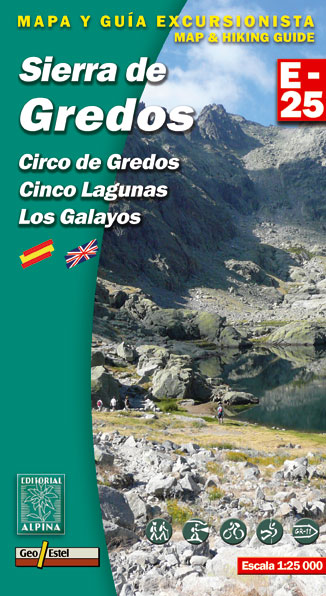 SIERRA DE GREDOS 1:25.000 -ALPINA E-25