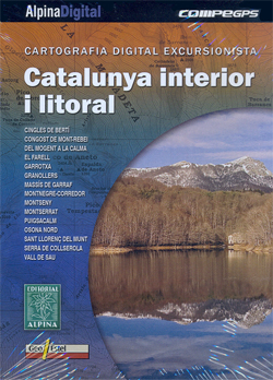 CATALUNYA INTERIOR I LITORAL [DVD] -ALPINA DIGITAL COMPE GPS
