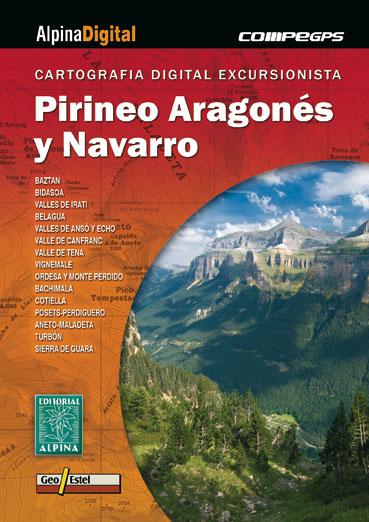 PIRINEO ARAGONES Y NAVARRO [DVD] -ALPINA DIGITAL COMPE GPS