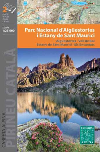PN AIGUESTORTES ESTANY DE SANT MAURICI 1:25.000 [2 MAPES] -ALPINA