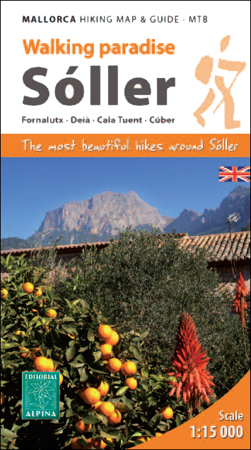 SOLLER [ENG] 1:15.000 MALLORCA HIKING MAP & GUIDE - MTB -ALPINA
