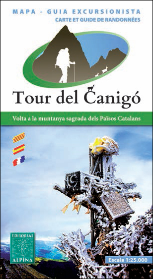 TOUR DEL CANIGO 1:25.000 -ALPINA