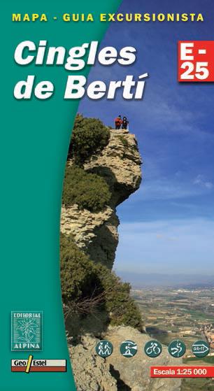 CINGLES DE BERTÍ 1:25.000 -ALPINA