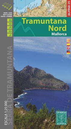 TRAMUNTANA NORD 1:25.000 MALLORCA -ALPINA