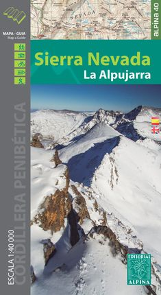 SIERRA NEVADA 1:40.000 -ALPINA