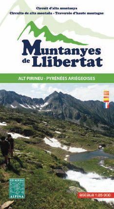 MUNTANYES DE LLIBERTAT 1:25.000 -ALPINA