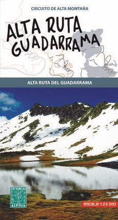 ALTA RUTA GUADARRAMA 1:25.000 -ALPINA