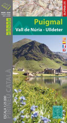 PUIGMAL VALL DE NURIA ULLDETER 1:25.000 -ALPINA