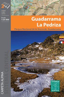 GUADARRAMA LA PEDRIZA [2 MAPAS] 1:25.000 -ALPINA