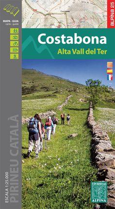 COSTABONA 1:25.000 ALTA VALL DEL TER -ALPINA E-25 [CAT-CAS-FRA]