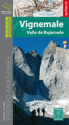 VIGNEMALE 1:25.000 VALLE DE BUJARUELO [CAS-FRA] -ALPINA 25