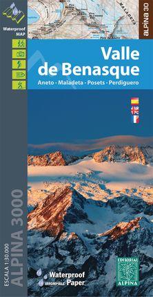 VALLE DE BENASQUE 1:30.000 [CAS-ENG-FRA] -ALPINA