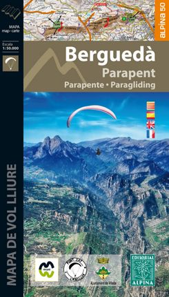 BERGUEDÀ - PARAPENT 1:50.000 [CAT-CAS-ENG-FRA] -ALPINA