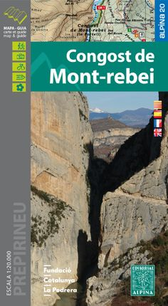 CONGOST DE MONT-REBEI 1:20.000 -ALPINA