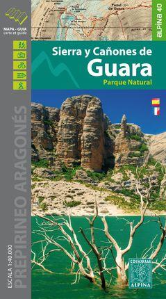 SIERRA Y CAÑONES DE GUARA 1:40.000 -ALPINA