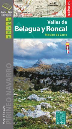 VALLES DE BELAGUA Y RONCAL 1:25.000 -ALPINA [CAS-ENG-FRA]