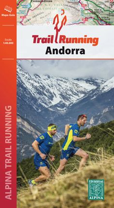 TRAIL RUNNING ANDORRA 1:40.000 -ALPINA