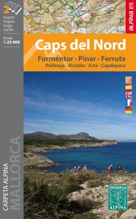 CAPS DEL NORD 1:25.000 [CARPETA 2 MAPES] -ALPINA