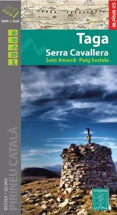 TAGA 1:25.000 SERRA CAVALLERA -ALPINA