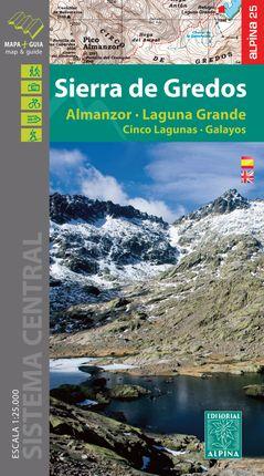 SIERRA DE GREDOS 1:25.000 -ALPINA