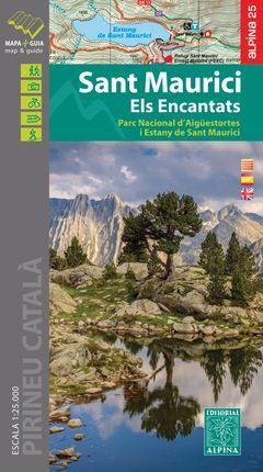SANT MAURICI - ELS ENCANTATS 1:25.000 [CAT-CAS-ENG] -ALPINA