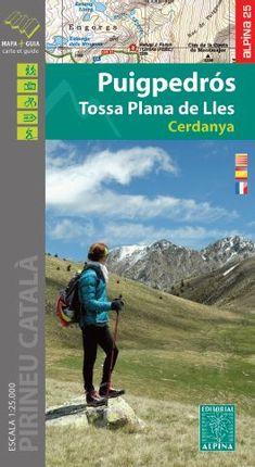 PUIGPEDRÓS - TOSSA PLANA DE LLES 1:25.000 [CAT-CAS-FRA] -ALPINA
