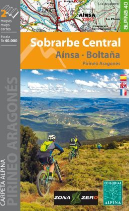 SOBRARBE CENTRAL 1:40.000 [2 MAPES] [CAS-ENG-FRA] -ALPINA