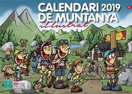 2019 CALENDARI DE MUNTANYA IL·LUSTRAT -ALPINA