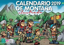 [CAS] 2019 CALENDARIO DE MONTAÑA ILUSTRADO -ALPINA