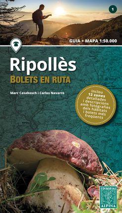 RIPOLLÈS -BOLETS EN RUTA 1:50.000 -ALPINA
