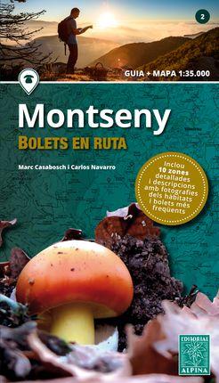 MONTSENY -BOLETS EN RUTA 1:35.000 -ALPINA