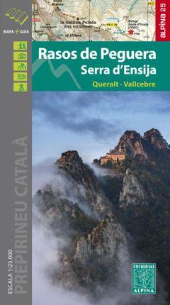 RASOS DE PEGUERA 1:25.000 SERRA D'ENSIJA -ALPINA