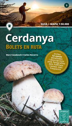 CERDANYA -BOLETS EN RUTA 1:50.000 -ALPINA