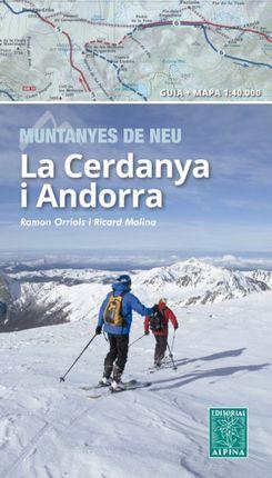 CERDANYA I ANDORRA -MUNTANYES DE NEU [MAPA 1:40.000] -ALPINA