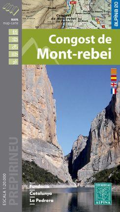 CONGOST DE MONT-REBEI [MAPA] 1:20.000 -ALPINA [CAT-CAS-ENG-FRA]