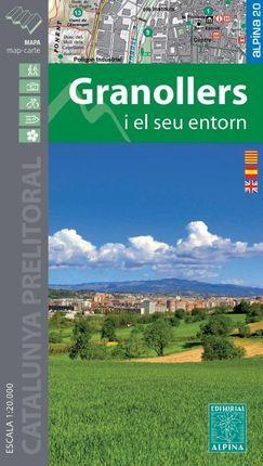GRANOLLERS I EL SEU ENTORN [1:20.000] - ALPINA
