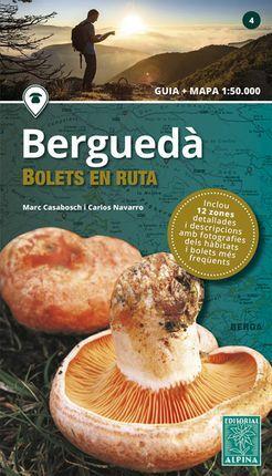 BERGUEDA. BOLETS EN RUTA 1:50.000 -ALPINA