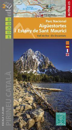 PN AIGUESTORTES I ESTANY DE SANT MAURICI 1:25.000 -ALPINA