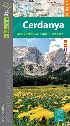 CERDANYA 1:50.000 -ALPINA