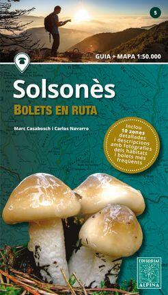 SOLSONÉS. BOLETS EN RUTA 1:50.000 -ALPINA