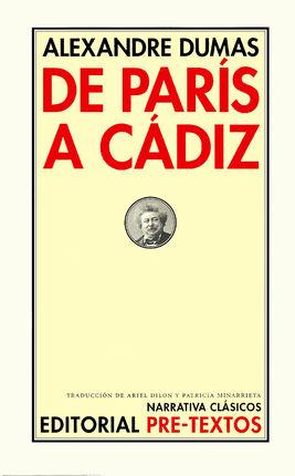 DE PARIS A CADIZ