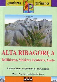 ALTA RIBAGORÇA [CAT] 1:25.000 -QUADERNS PIRINENCS SUA