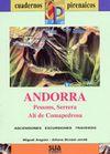 ANDORRA [CAS] 1:25.000 - 1:50.000 -CUADERNOS PIRENAICOS -SUA