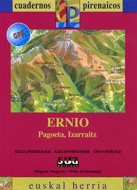 ERNIO [CAS] 1:25.000 - 1:50.000 -CUADERNOS PIRENAICOS -EUSKAL HERRIA -SUA